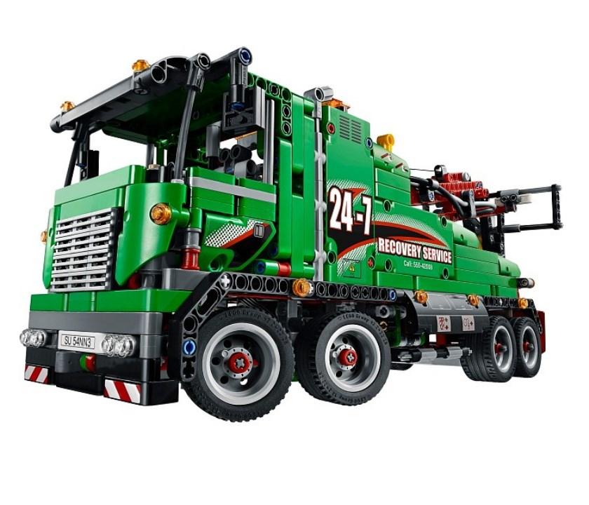 Lego technic lego машина техобслуживания 42008