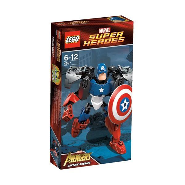 Капитан америка 4597 лего