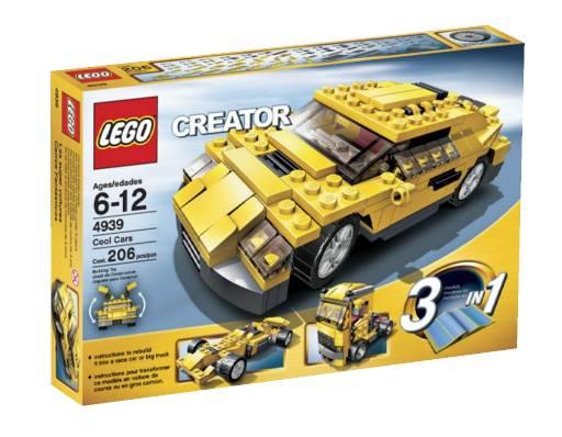 Lego creator классные машинки 4939
