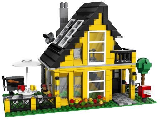 LEGO CREATOR / Здания / Пляжный дом 4996 / Лего Салон - фирменный магазин конструкторов и игрушек LEGO в Москве - Развивающие иг