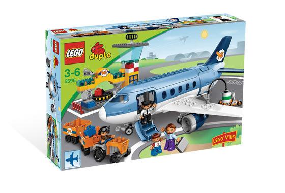 Lego duplo аэропорт 5595