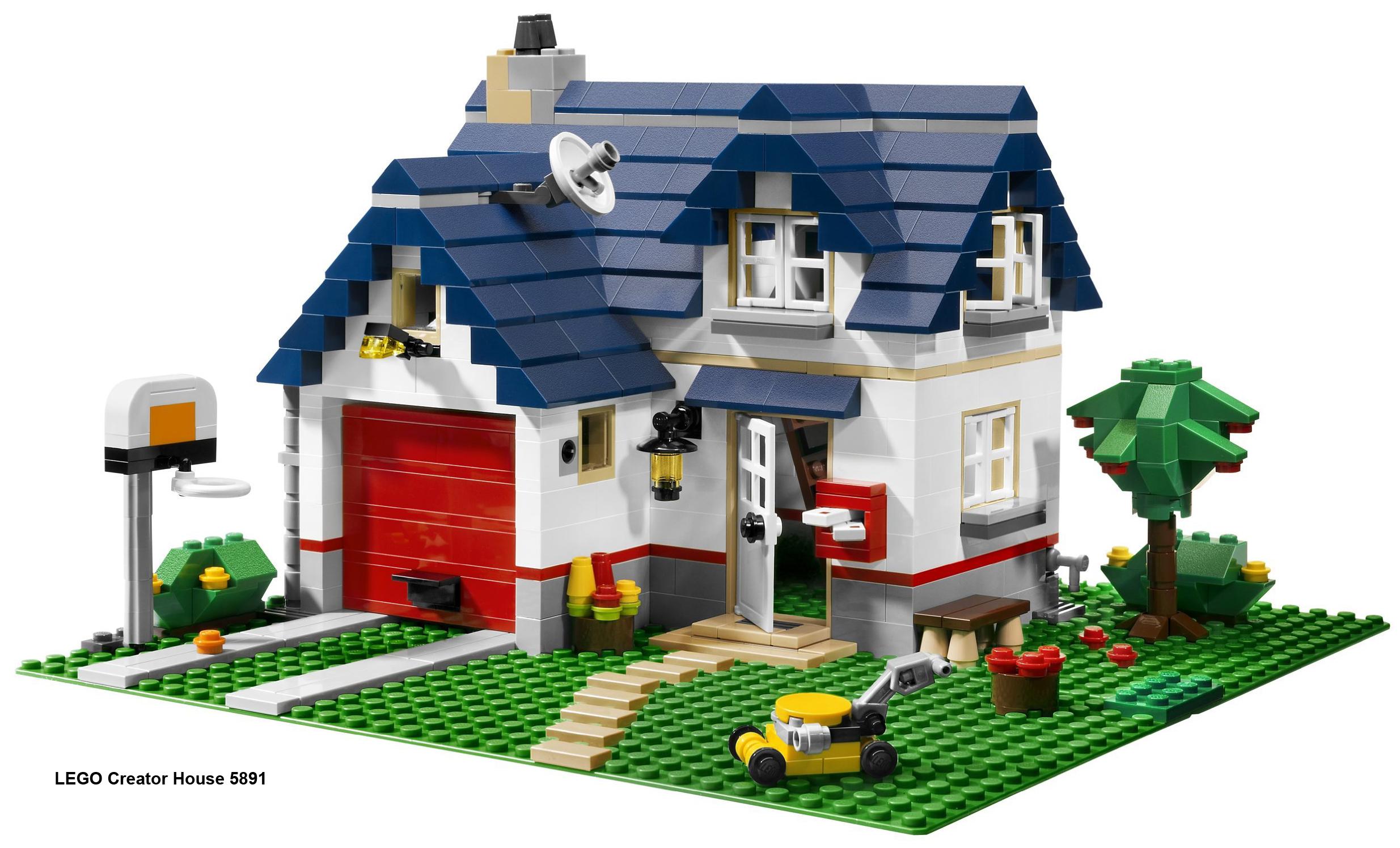 Фото лего дома