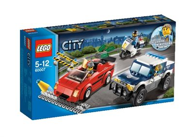 Lego city погоня за преступниками 60007