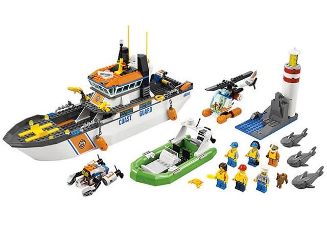 Лего Спасательный Корабль Инструкция - фото 5