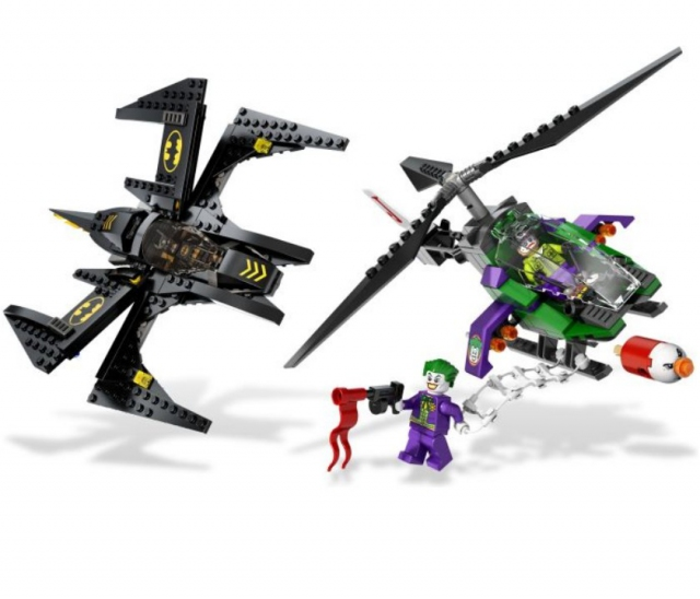 Lego super heroes бэтмен против джокера 6863