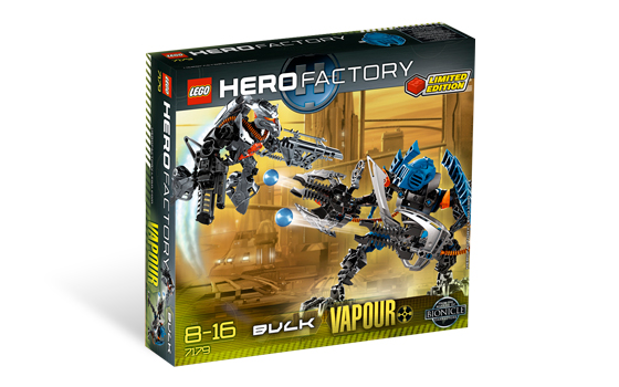 Lego hero factory балк и вапор dunkan bulk and vapour 7179