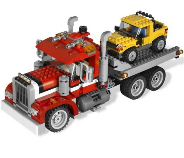 Lego creator шоссейный погрузчик highway pick up