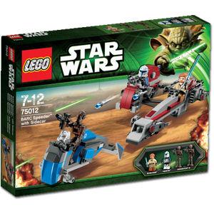 Lego star wars barc спидер barc speeder 75012