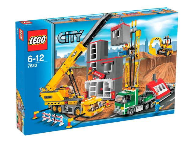 Строительство Lego City (Лего Город).