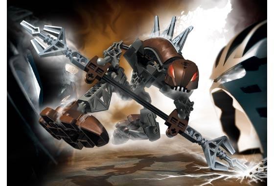 Lego bionicle ракши панрак rahkshi panrahk 8587