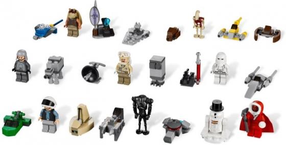 календарь LEGO Star Wars