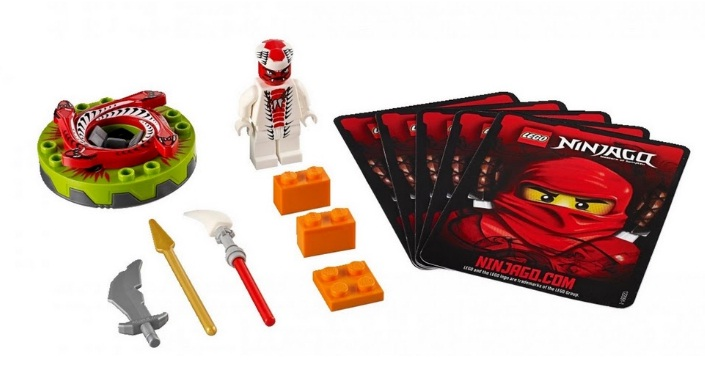 Lego ninjago снэппа 9564